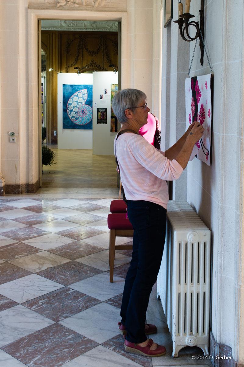 Impression de la rétrospective de Lutgard Gerber-Balliau