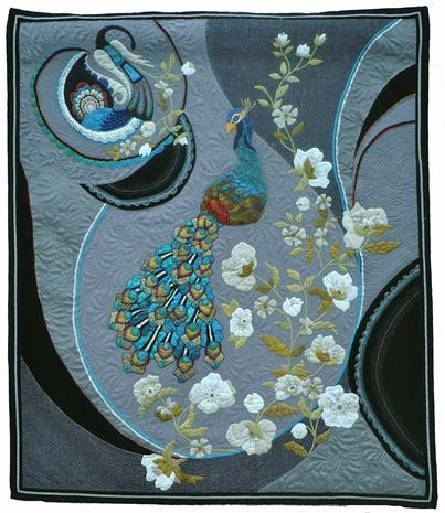 6. Nr. 15 - Paon - 100cm x 115cm - Sylvie Hoffmann - Hainaut - 81 p.