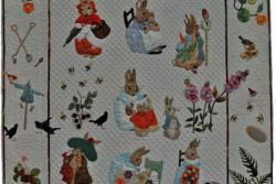 6. Nr.68 - Peter Rabbit -100cm x 100cm - Cécile Namèche (65 p)
