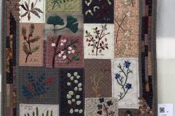 17    n°  19    73    Cécile Derave,  Brabant-Wallon,  L'herbier, 125 cm x  99 cm