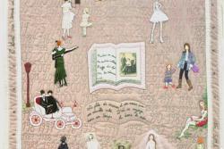 8. Nr. 40 - Pour toi Maman - 117cm x 136cm - Colette Detaille-Bouchat - Namur - 74 p.