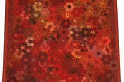 9 - nr 67 - 67pt. Vurige bloemen - Tandy Mallet - Lommel